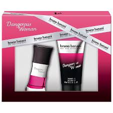 Bruno Banani Dangerous For Woman EdT 20 ml + sprchový gel 50 ml dárková sada