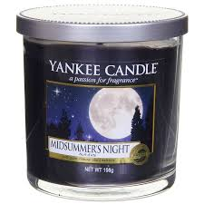 Yankee Candle Vonná svíčka Midsummers Night Decor malý 198 g