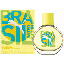 Puma Brasil Yellow for Woman toaletní voda 40 ml