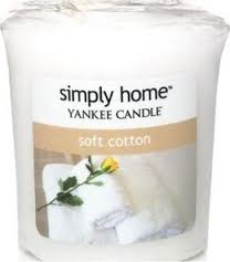 Yankee Candle Votive Soft Cotton 49 g