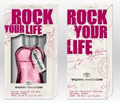 Tom Tailor Rock your life for Woman toaletní voda 20 ml 1 +1 Zdarma