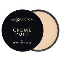 Max Factor Creme Puff make-up & pudr 13 Nouveau Beige 21 g